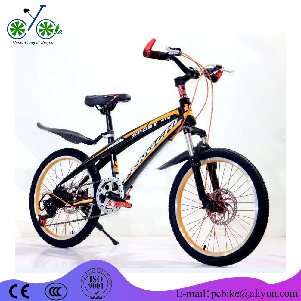 "Factory OEM customed 20'' Wheel Size Child Bicycle/20"" kids MTB bike for sale/black children <strong>cycle</strong>"