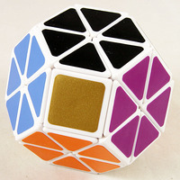 Wholesale Lanlan Jewel Cube Magic Puzzle White Plastic Educational Toys