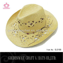 Hot Selling mexican Straw Cowboy Hat Wholesaler