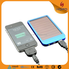 New 2017 Products Solar Power Bank 2600mAh Factory Price Power Bank Solar Charger