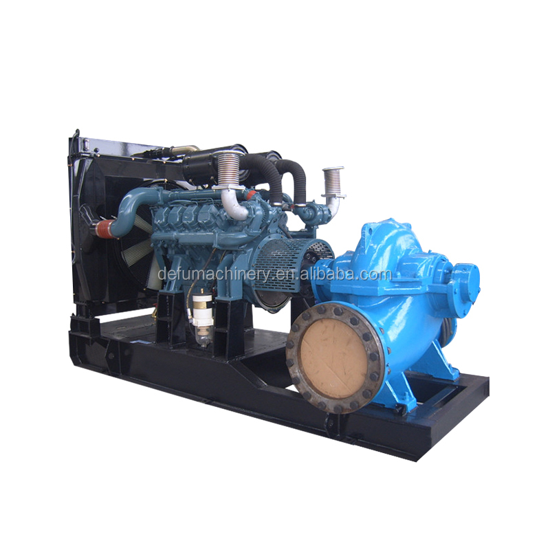 Diesel engine dewatering pumps dewatering machine