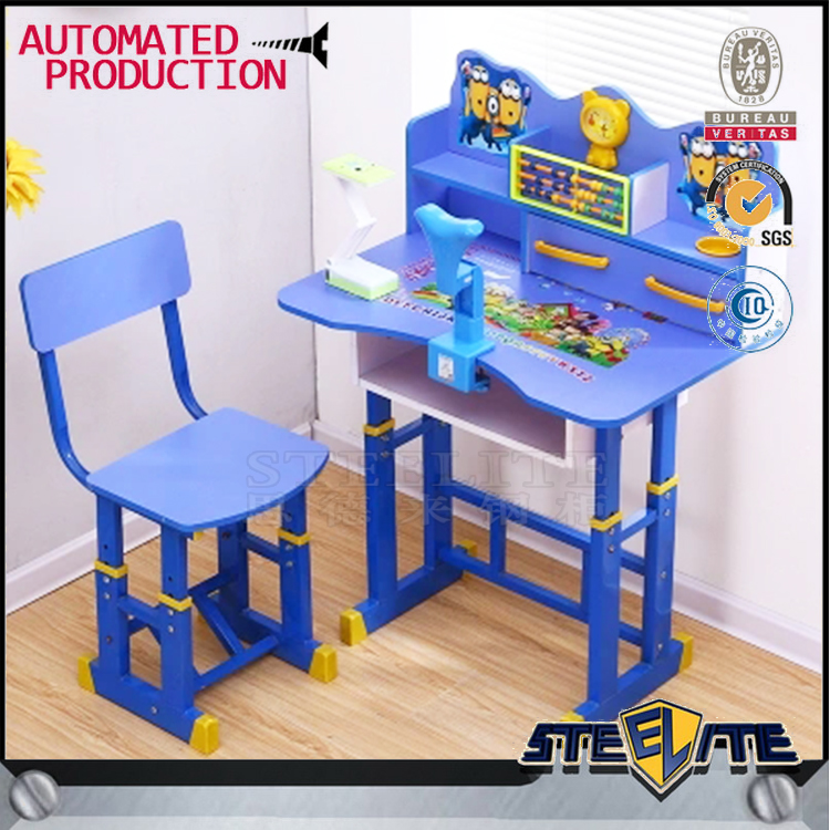Kids Study Desk and Chair for Good Posture
