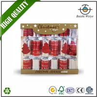 Factory price custom event and party decorations 2012 christmas novelty items firecrackers bangers