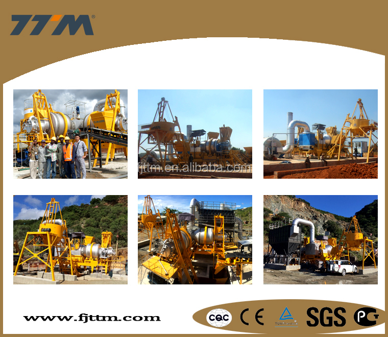 60t/h asphalt road machinery, asphalt mixing plant, mobile asphalt batching plant