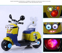 Promotion Small Kids Tricycle Moto Toys Cute Electric Baby Motorcycle Innovative Products for Import