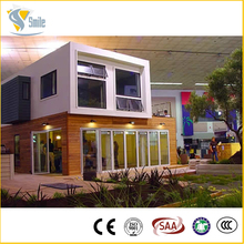 eco friendly container house prefabricated wood frame house