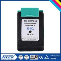 100% Quality Guarantee remanufactured ink cartridge for hp 301xl with CE Certifiecate