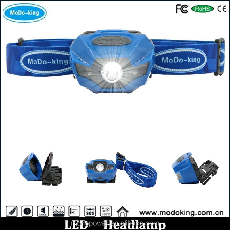 LED Professional Lighting Dual Light Source Petzl Headlamp from original Factory 2 years warranty