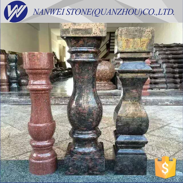 China cheaper price natural stone <strong>rails</strong> products use lots of granite color