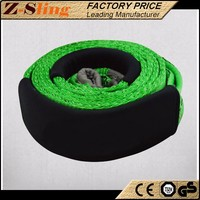 Z-Sling Tightly woven Off-load Winch Strap Road recovery straps with high quality