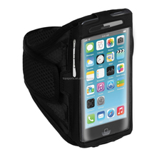 For apple iphone 6s sports armband, mobile phone sports armband case with key holder