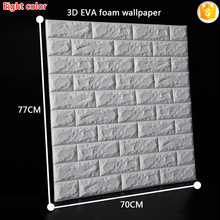 Korean style EVA foam 3d wallpapers, DIY brick wall paper