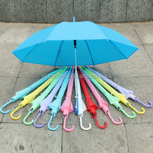 Transparent frosted material umbrella poe material umbrella