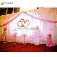 2014 New Simple Backdrop Curtain Design