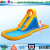 2015 New designed inflatable water slide with a pool, giant inflatable slide for kids, cheap inflatable water slides for sale