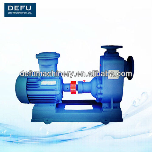 CYZ-A motor driven high efficiently self-priming centrifugal oil pump