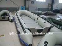 CE hh-s600 6m inflatable boat with aluminum floor