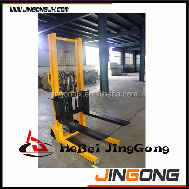 hydraulic forklift trucks /hydraulic manual stacker with competitive price