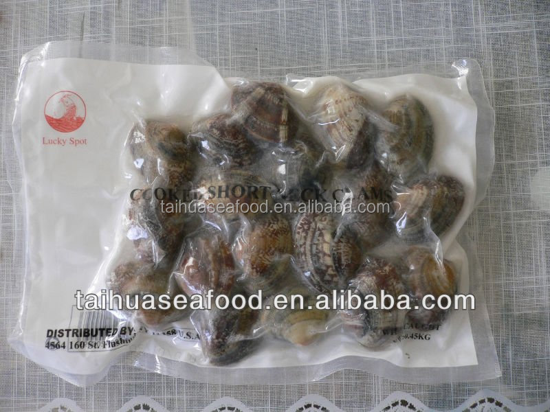 Frozen fresh boiled Baby Clams(31-40)