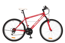 cheap price import bicycles from china 26'' weel size with stel frame and fork