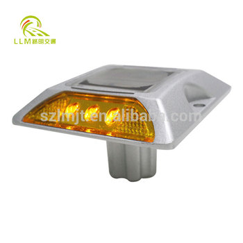 IP68 Aluminium Cat Eye Led  Solar Road Stud raised pavement marker