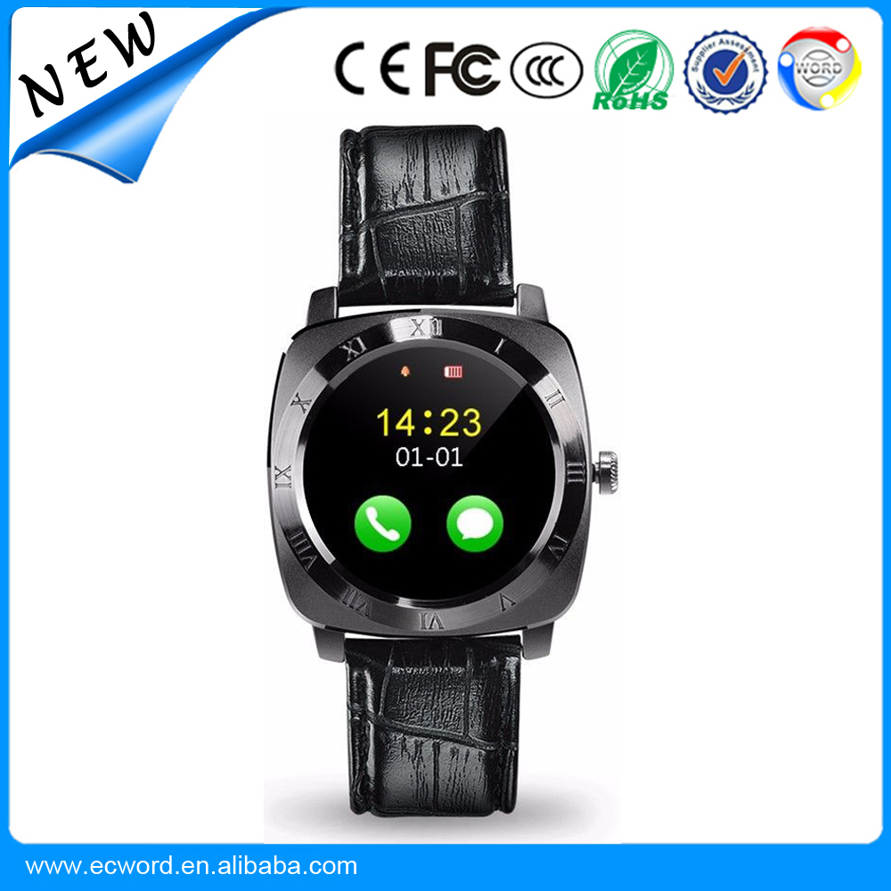 X3 Smart Watch Phone support SIM Card Phone call Smartwatch Pedometer Fitness Clock Camera