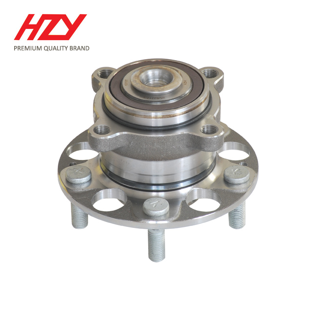New HZY Chrome Steel <strong>Rear</strong> <strong>Axle</strong> Wheel <strong>Bearing</strong> Hub HUB221T-5 for Honda Accord 2008-2012 with high quality