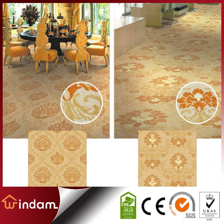 Factory making Europe style nylon Wilton room floor carpet