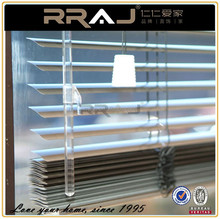 2.5cm wide slat brushed aluminum venetian blinds
