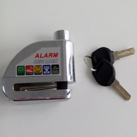 Top Brand New motorcycle helmet locks, disc alarm lock