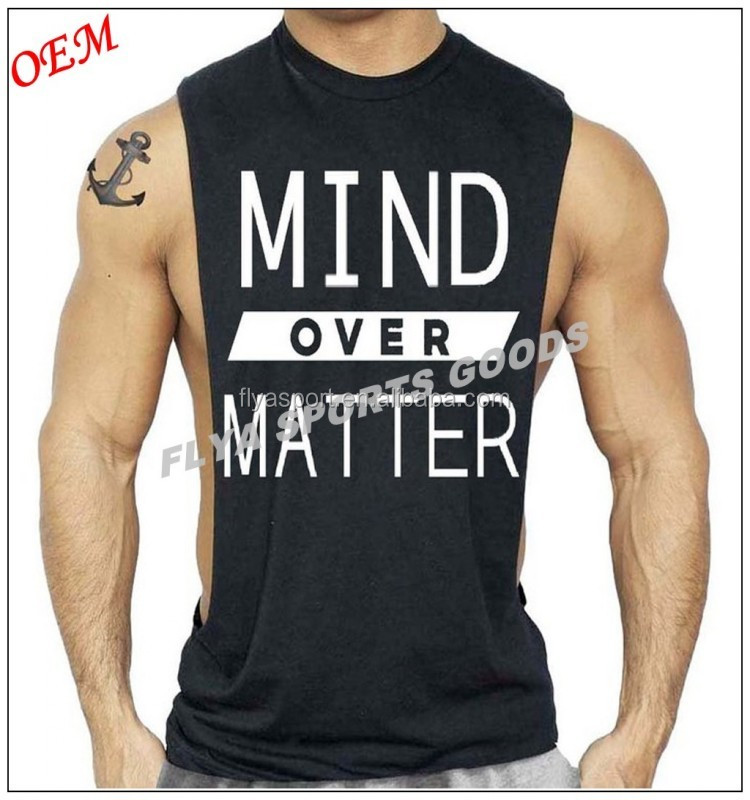 Mens New Black Low Cut Workout Cotton gym TShirt Bodybuilding Muscle TShirt