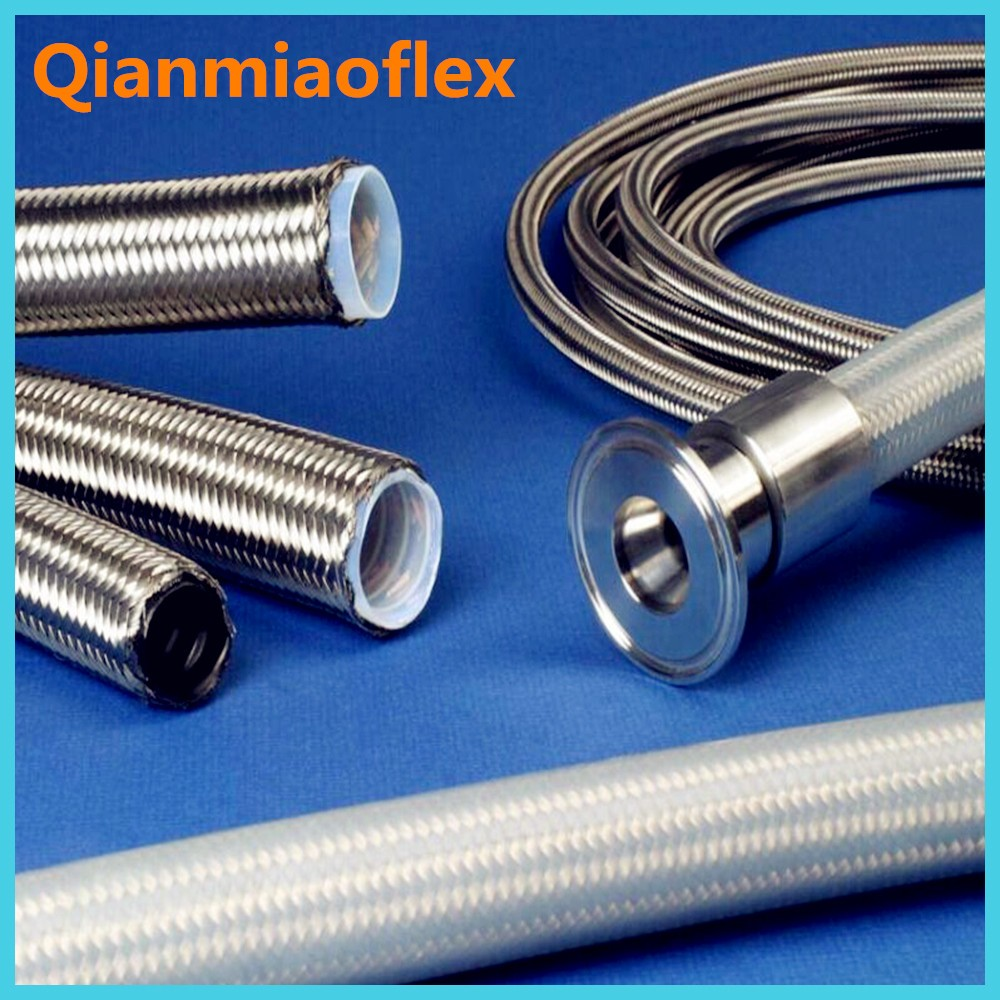 Chinese Stainless Steel Wire SS304 Braided Teflon Hose