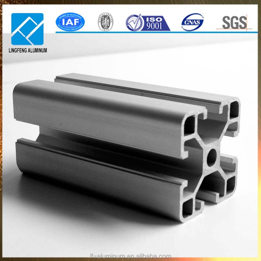 aluminum factory aluminum glass frame extrusion on