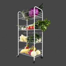 SAJV home metal storage rack holder storage shelf adjustable kitchen steel storage shelf