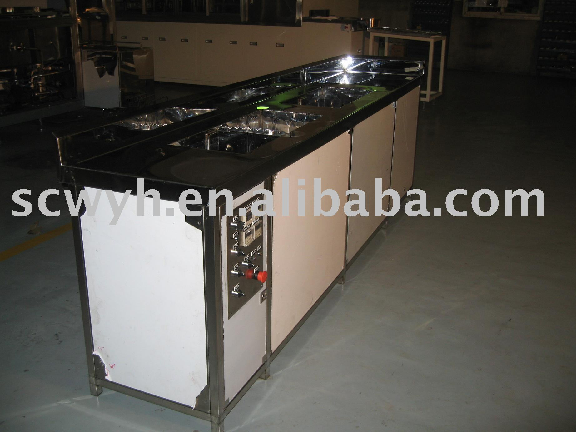 Dual Tank Industrial Ultrasonic Cleaner