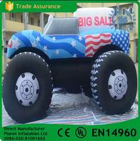 Hot sale exhibiton inflatable model car for outdoor advertising