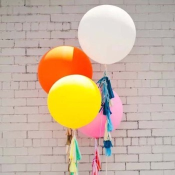 45cm Round Colorful Big Giant latex Balloon, 1PC 18inch Party Birthday Decorate Balloon,big Helium balloons