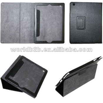 Classic Leather Case for Ipad 5/4/2/new ipad 3,with standand recliner,many colors and designs are available