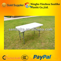 Fold-in-Half Table/ 5FT Fold In Half Table,6ft folding table in case