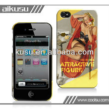 Hot sale 3d epoxy case for iphone4/iphone4s