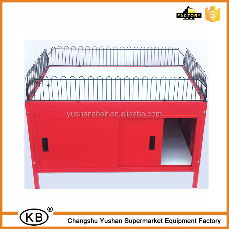 industrial metal promotion wire mesh table