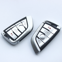 For B-M-W X5 X6 4 Buttons Smart Remote Key Shell Smart Key Case Cover FOB Key Case Replace