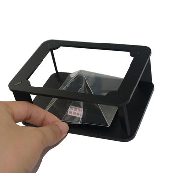 New business Smartphone for smartphone,3D holographic projector Mini Pyramid Hologram