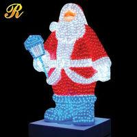 China new innovative products christmas hanging santa claus