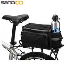 Multi-function Bicycle Bike Rear Back Seat Bag Carrier Basket, Black Bike Carrier Bag