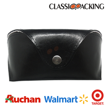 2015 cheap soft leather sunglass case with high quality