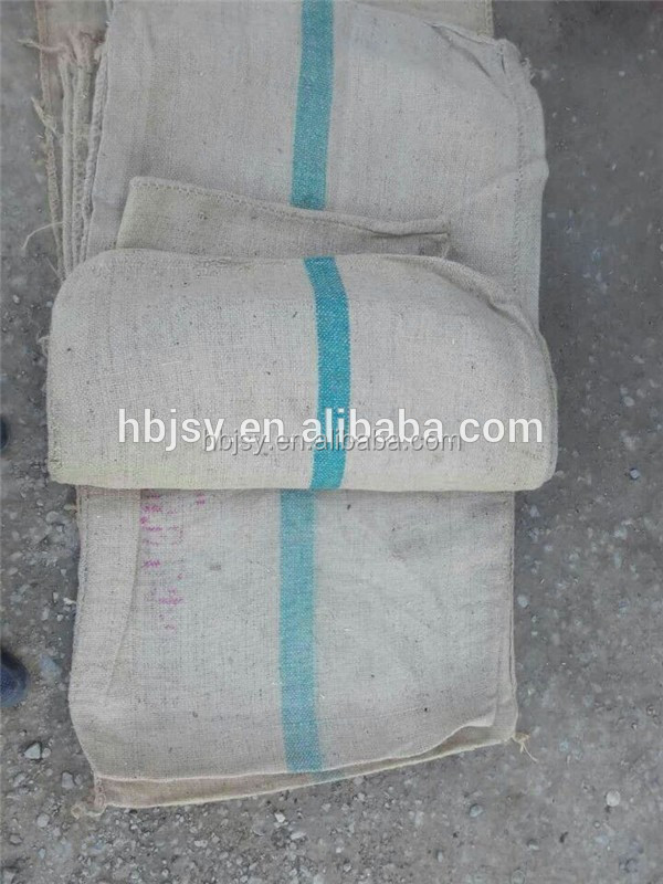 STANDARD HEAVY CEES JUTE SACKS FOR RICE, SUGAR, 44*26.5 INCH GUNNY SACKS FROM THILAND EROSION BAGS
