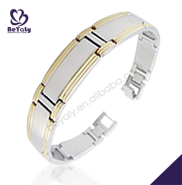 Own design cool unisex stainless steel slogan bracelet