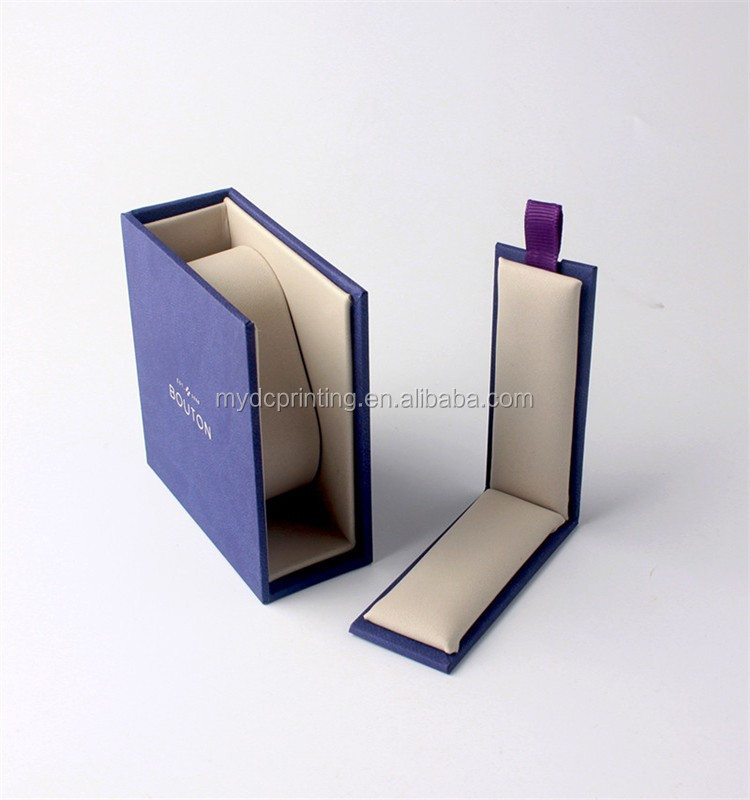 Wholesale high quality pu leather jewelry box