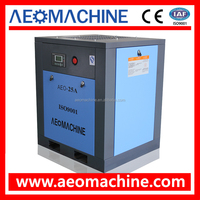 CE Certificate Approved 18.5KW 25HP Energy Saving Screw Type Air Compressor